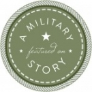A Military Story Logo_3_Green - Featured On